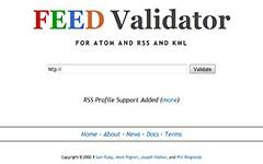 Feed Validator for Atom, RSS and KML
