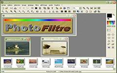 PhotoFiltre is a complete image retouching program. It allows you to do simple or advanced adjustments to an image and apply a vast range of filters on it.