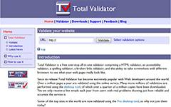 Total Validator-HTML,HTML5,XHTML,WCAG Validator with Spell Check, Links Check, Accessibility and Screenshots.