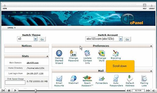 How to Setup your Custom 404 page in cPanel for Linux.