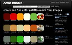 Color Hunter-Image to Color Palette Generator.