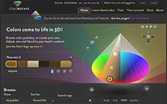 ColoRotate - a 3D tool for viewing and editing colors.