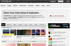 COLOURLovers-create and share colors, palettes and patterns. Has extremely useful tools.