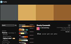 Adobe Kuler-a Web application for generating color themes that can inspire any project. With Kuler you can experiment with color variations and browse thousands of themes.