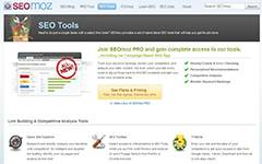 SEO tools at SEOmoz. A highly trustworthy SEO provider.
