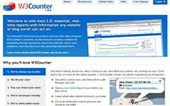 W3Counter Web analytics and statistics package. It is a good alternative to Google analytics. It offers 1 free basic plan, and 1 additional paid plan. The free account allows you to track one Website and view nearly 30 real-time reports on your Website´s activity and is limited the 5,000 page views per day.