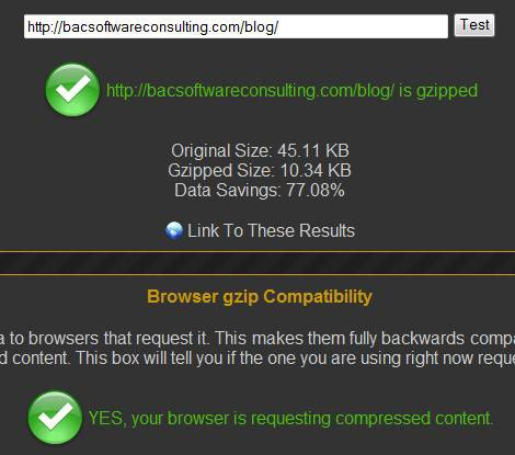 This Blog is Compressed using HTTP Compression Test.