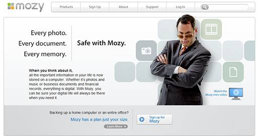 Mozy - Online Backup Solutions for both Windows and Mac users. Provides 2GB of Free storage