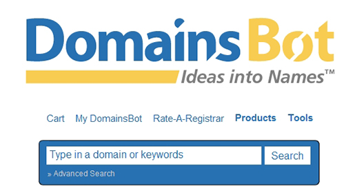 DomainsBot - Available domain suggestions, name spinner, expired and expiring domain name search.