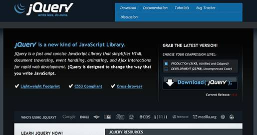 jQuery is a JavaScript Library. It is fast and concise JavaScript Library that simplifies HTML document traversing, event handling, animating, and Ajax interactions for rapid Web development.