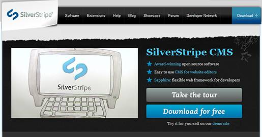 SilverStripe is an open source Web content management system used by governments, businesses, and non-profit organisations. As a platform, SilverStripe CMS is used to build Websites, intranets, and Web applications. SilverStripe CMS enables Websites and applications to contain stunning design, great content, and compelling interactive and social functions.