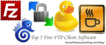 Best 5 Free FTP Client Software.