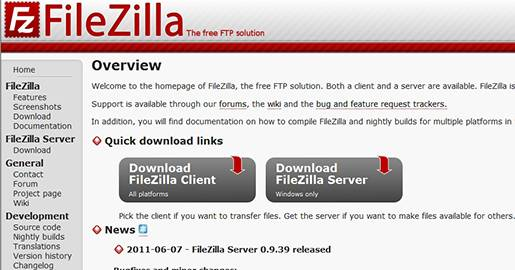 FileZilla-The free FTP solution.