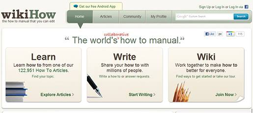 wikiHow - The How-to manual that you can edit.