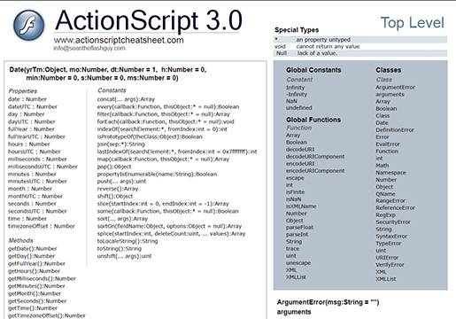 ActionScript 3.0.