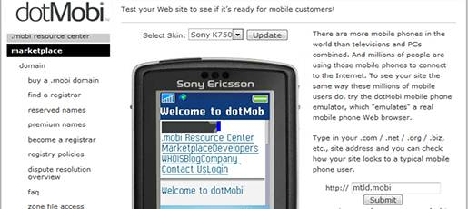 Test your Web site to see if it is ready for mobile customers.