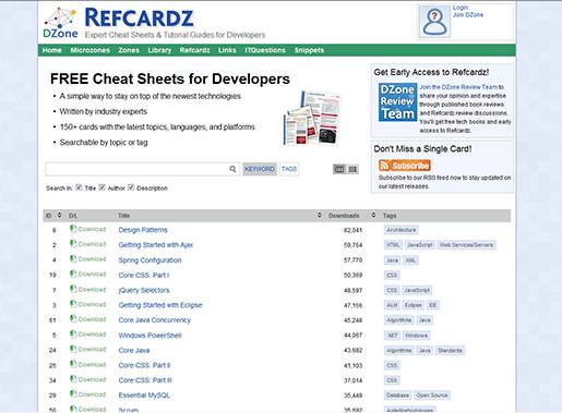 DZone Refcardz - Cheat Sheets & Tutorial Guides for developers written by industry experts.