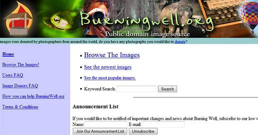 BurningWell - Free Public Domain Images and Photos.
