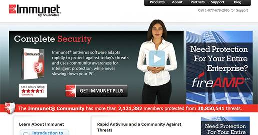 Immunet Free Antivirus - Antivirus Software, Free Cloud Antivirus.