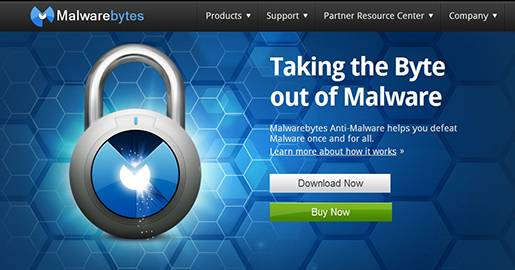 Malwarebytes Anti-Malware Free - removes malware including viruses, spyware, worms and trojans.