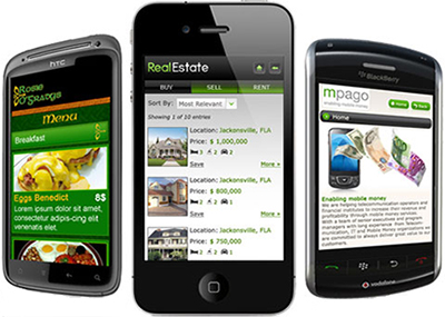 Website building tools for Mobile devices.