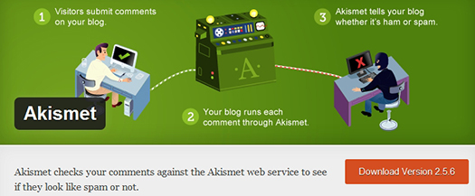 Akismet. WordPress Plugin.