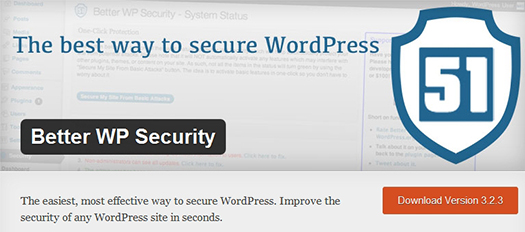 Better WP Security. WordPress Plugin.