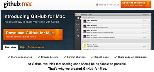 GitHub for Mac.