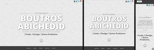 Boutros AbiChedid. Coder. Designer.