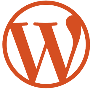 WordPress Orange Logo.