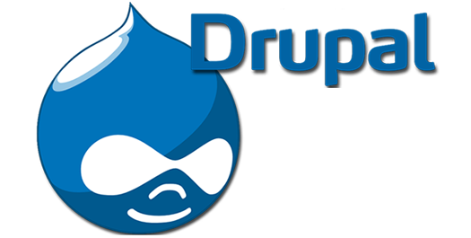 Drupal Logo and Name.