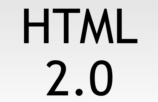 HTML 2.0  - Second Version.