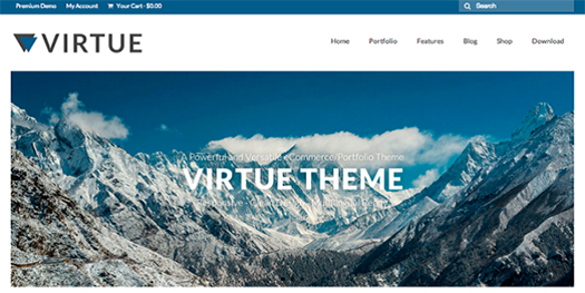 Virtue - Free WordPress Theme