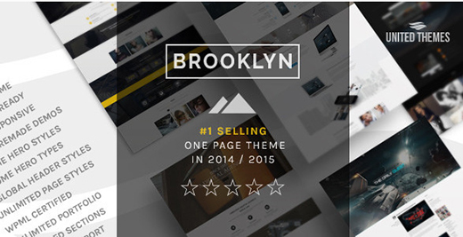 Brooklyn - Creative One Page Multi-Purpose Theme.