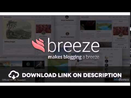 Breeze - Minimalist Responsive Personal Blog - WordPress.