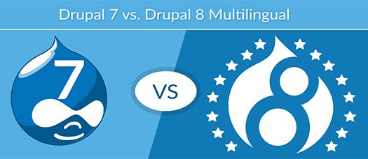 Drupal7 Versus Drupal8.