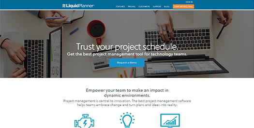 Online IT Project Management Software | LiquidPlanner.