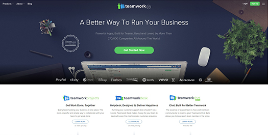Teamwork - Online Project Management & Task Management Software.