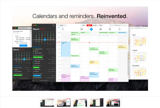 Fantastical 2 - Calendar and Reminders on the Mac App Store.
