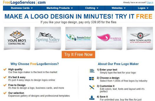 Get Free Logos, Free Logo Design with our Logo Maker.