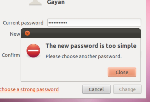 Weak Passwords.