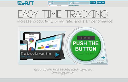 Yast: Easy time tracking for freelancers & teams.
